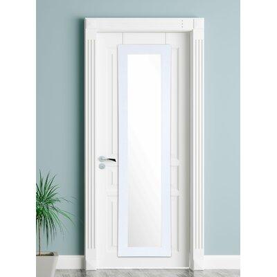 BrandtWorksLLC Modern & Contemporary Accent Mirror Finish: Pearl White