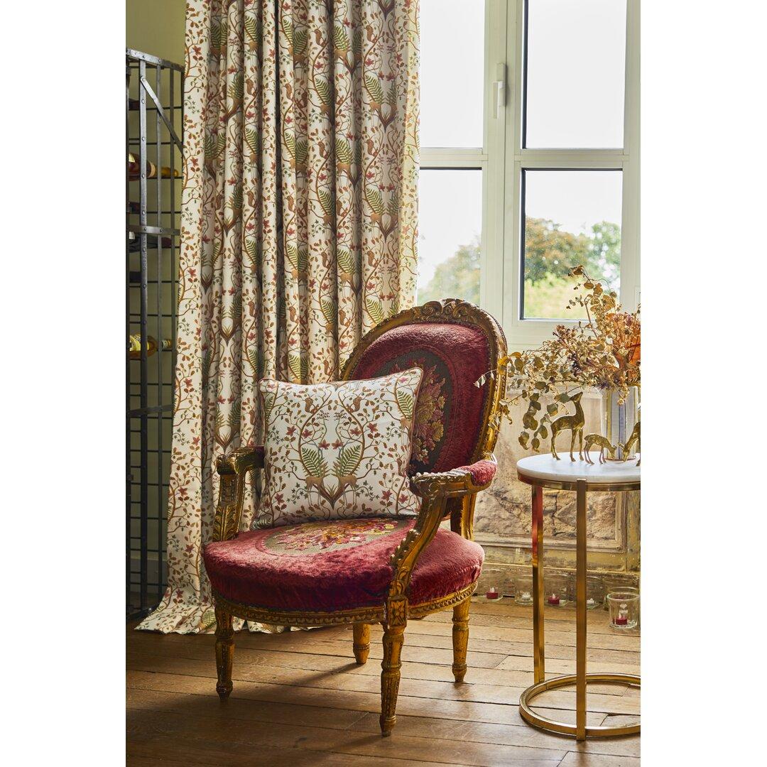 A Woodland Trail Eyelet Room Darkening Thermal Curtains