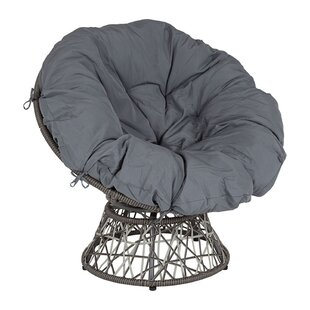 Caraballo Swivel Patio Chair with Cushion