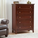 Tetrault 5 Drawer Chest by Charlton Home