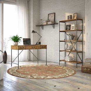 Ironworks Desk and Bookcase Set
