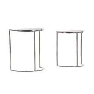 Frinton 2 Piece Nest Of Tables By Canora Grey