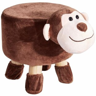 Warfield Padded Footrest for Children and Nursery Décor Ottoman by Zoomie Kids