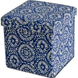 Maidenstone Folding Storage Ottoman (Set of 2) by Andover Mills