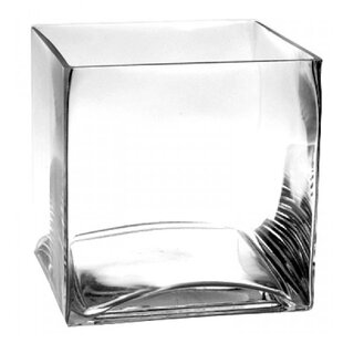 Glass Cube Table Vase