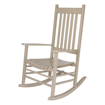 Emjay Rocking Chair Finish: Taupe Gray by Andover Mills