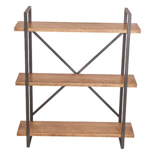 Mikesha Standard Bookcase by Gracie Oaks New Design