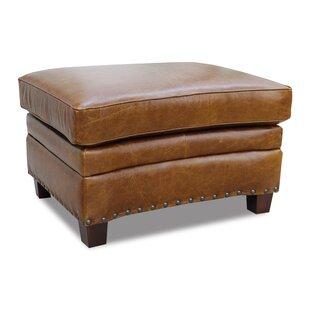 Halliburton Leather Ottoman