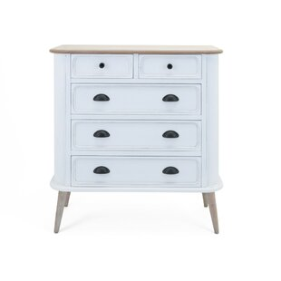 Caressa Versatile 5 Drawer Accent Chest by Gracie Oaks