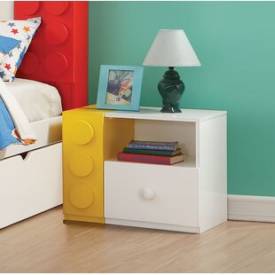 Best Choices Hutzler 1 Drawer Nightstand By Zoomie Kids
