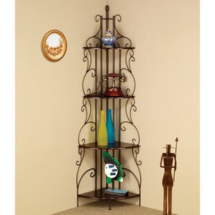 Cheatham Iron Baker's Rack by Fleur De Lis Living