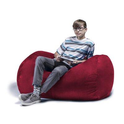 Brilliant Jaxx Jaxx Jr Bean Bag Lounger Upholstery Cherry Dailytribune Chair Design For Home Dailytribuneorg