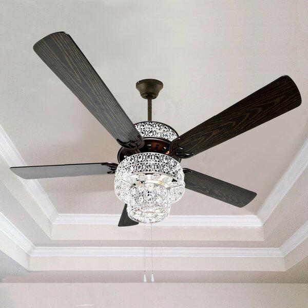 Stained Gl Ceiling Fan Wayfair