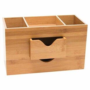 Rebrilliant Bamboo Tier Desk O..