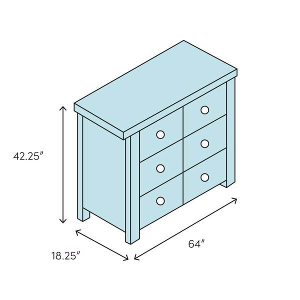 Foundry Select Ishiro 8 Drawer Dresser Wayfair