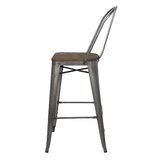 Johan Bar & Counter Stool (Set of 2) by Williston Forge