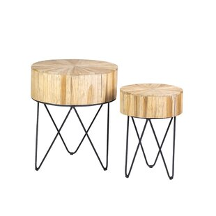 Audrey 2 Piece Nesting Tables