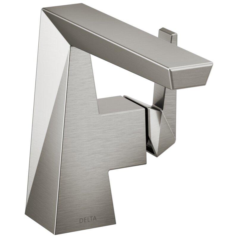 Delta Trillian Single Hole Bathroom Faucet With Drain Assembly And Diamond Seal Technology Wayfair