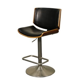 Thill Adjustable Height Swivel Bar Stool Wrought Studio