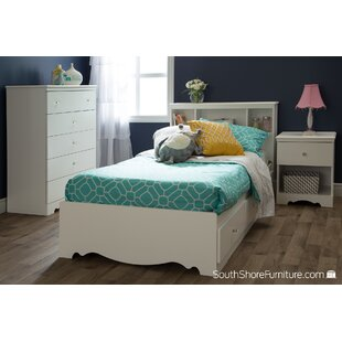 Crystal Twin Mate's Bed with Storage by South Shore