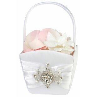 Flower Girl Baskets Wedding You\'ll Love   Wayfair