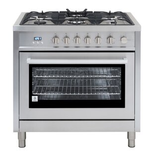 36 3.8 cu ft. Free-standing Gas Range by Cosmo
