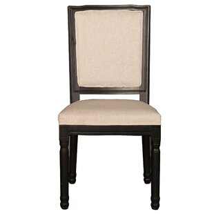 Filomena Vintage Upholstered Dining Chair (Set of 2)