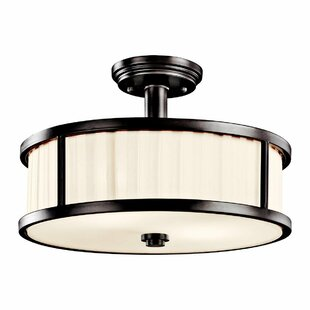 Forsythe 2-Light Semi Flush Mo..