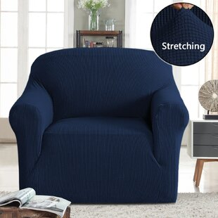 Stretch Box Cushion Armchair Slipcover