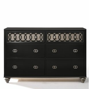 House of Hampton Nims 6 Drawer Double Dresser