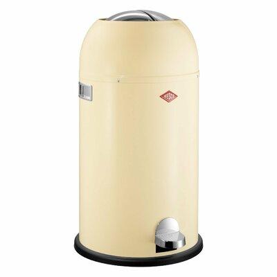 Wesco Kickmaster 7.5 Gallon Step On Trash Can Color: Almond