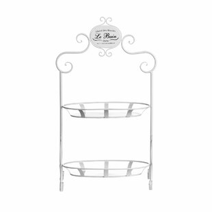 Rodrick 2 Tier Stand 44 X 73cm Bathroom Shelf By Brambly Cottage