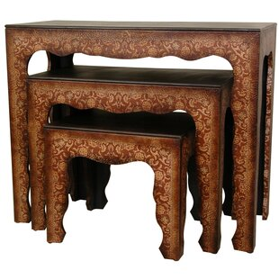 World Menagerie Clair 3 Piece Nesting Tables