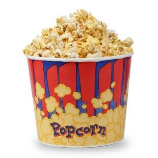 85 Oz. Popcorn Bucket (Set of 25) by Great Northern Popcorn