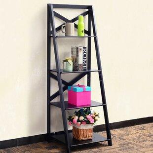 Gracie Oaks Christner Storage Ladder Bookcase