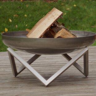 Curonian Memel Stainless Steel Wood Burni..