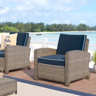 Dardel Patio Chair with Cushion (Set of 2)