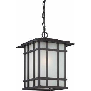 Reviews Parma 1-Light Outdoor Hanging Lantern By Volume Lighting