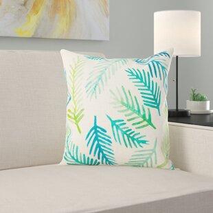 Aldham Fern Leaf Outdoor Cushion By Bay Isle Home