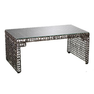 Akersville Woven Coffee Table by World Menagerie SKU:EB935458 Shop
