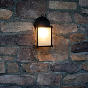 Charlton Home Eaton Outdoor Wall Lantern