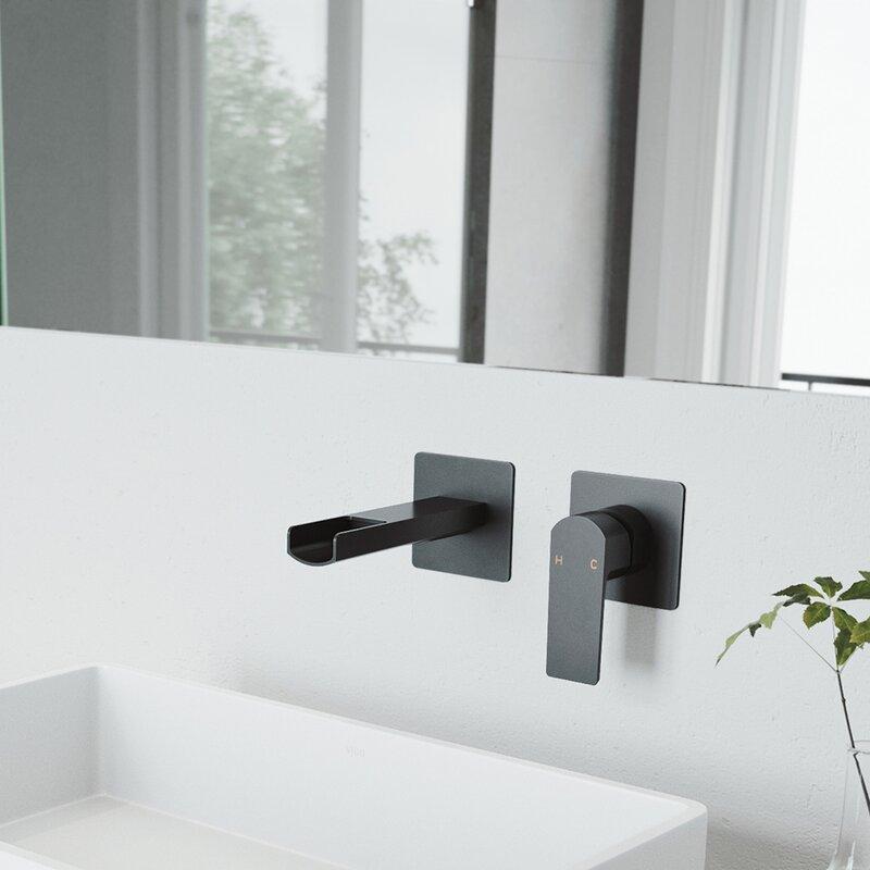 Vigo Atticus Wall Mounted Bathroom