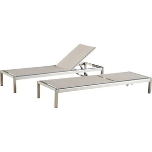 Royalston Reclining Chaise Lounge (Set of 2)