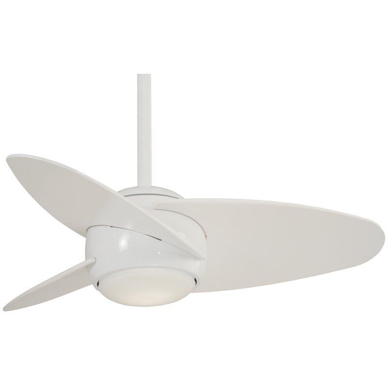 Slant 3 Blade Led Ceiling Fan