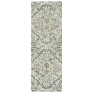 Eitzen Hand-Tufted Silver Indoor/Outdoor Area Rug