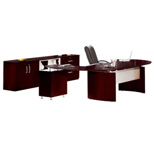 Napoli Series 3-Piece Standard Desk Office Suite