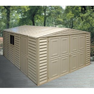 Duramax Building Products 10 ft. 5 in. W x 31 ft. 2 in. D Plastic Garage Shed