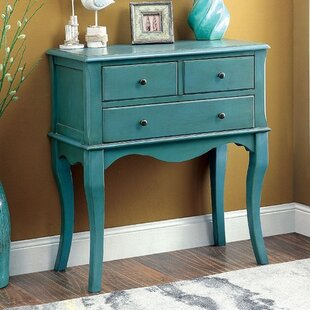 Tonia 3 Drawer Accent Chest by Highland Dunes