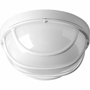 Krystn LED Outdoor Bulkhead Light by Latitude Run