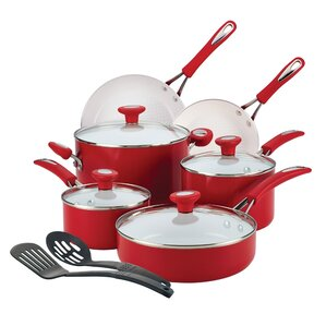 Ceramic CXi Non-Stick 12 Piece Cookware Set